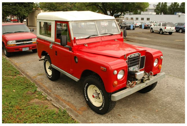 Spotted 1973 Land Rover Series Iii West County