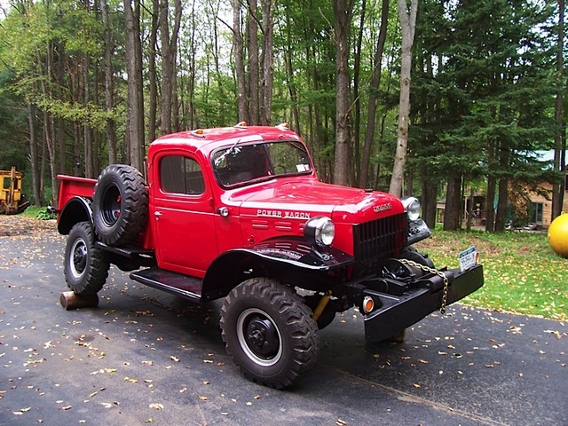 Spotted… Swivel Frame 1958 Dodge Power Wagon // West County