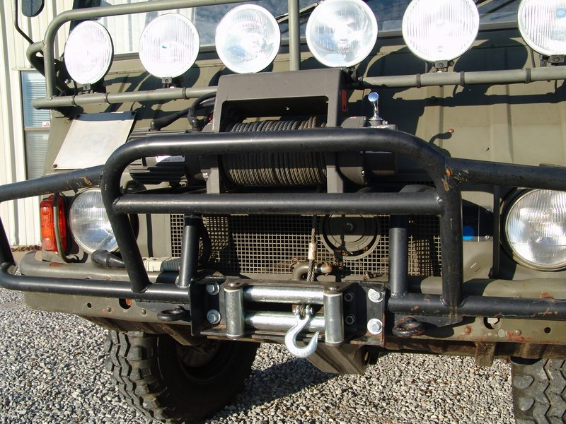 Spotted Steyr Puch Pinzgauer 710 Hardtop West County
