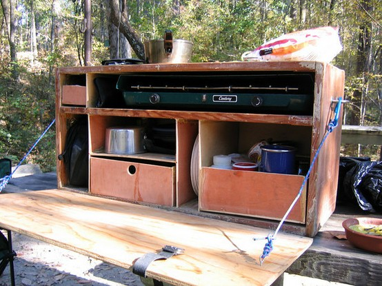 Chuck box camp kitchen west county explorers club for Camp trailer kitchen designs