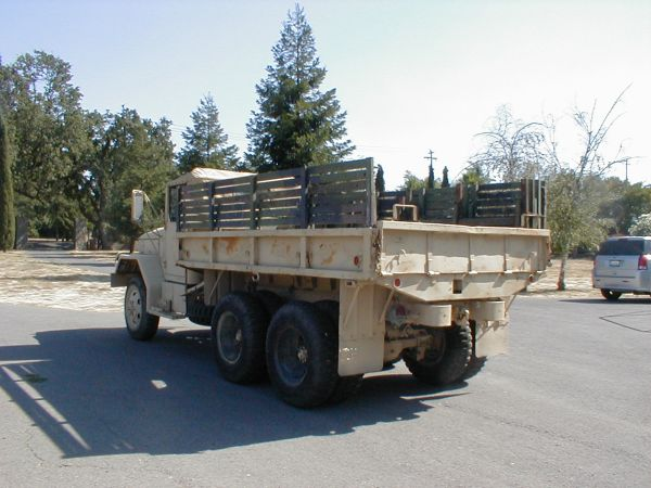 """Spotted: M35A2 """"Deuce and a Half"""" Army Truck // West County"""