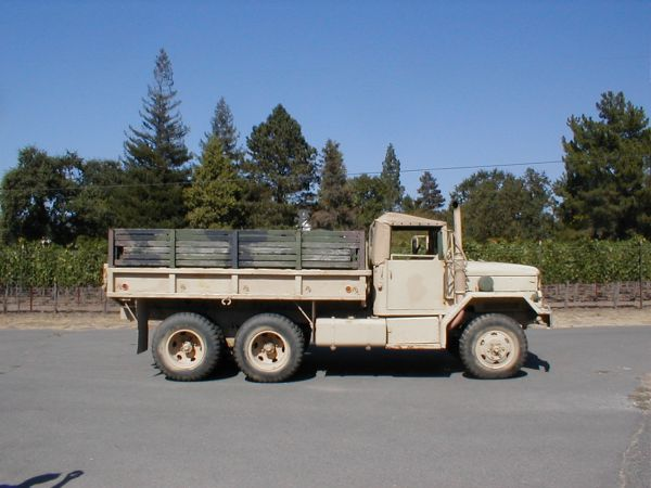 "Spotted: M35A2 ""Deuce and a Half"" Army Truck // West County"