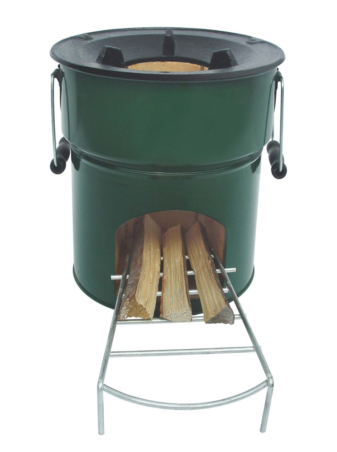 Greenfire rocket stove for camping west county for Small rocket heater