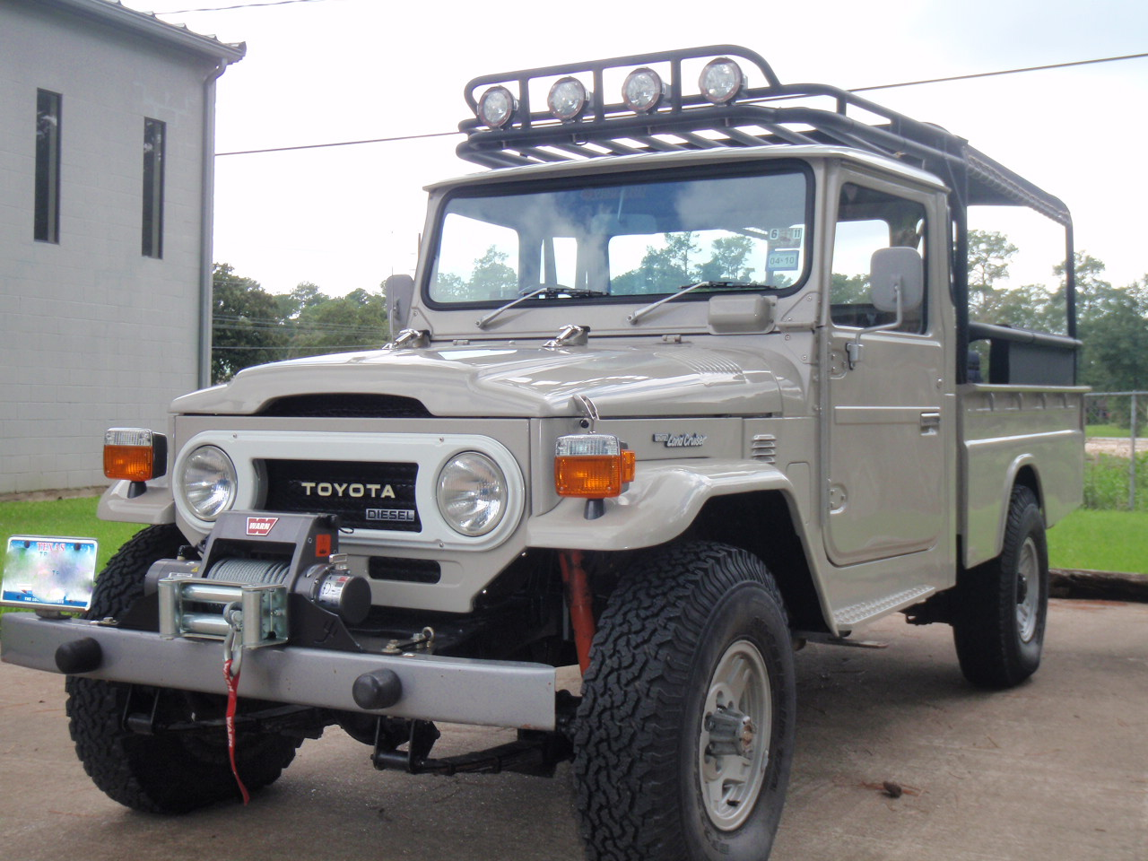 spotted toyota hj45 diesel pickup west county explorers club. Black Bedroom Furniture Sets. Home Design Ideas