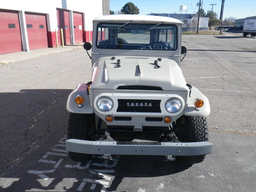 Spotted Restored 1969 Toyota FJ40 West County
