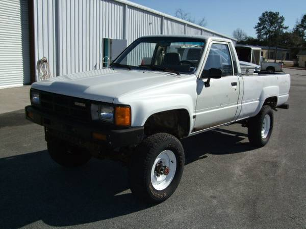 Spotted Toyota 4 4 Pickup With Factory Diesel West County