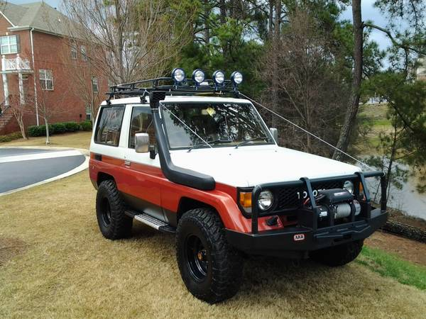 Spotted Land Cruiser Bj70 Diesel West County Explorers