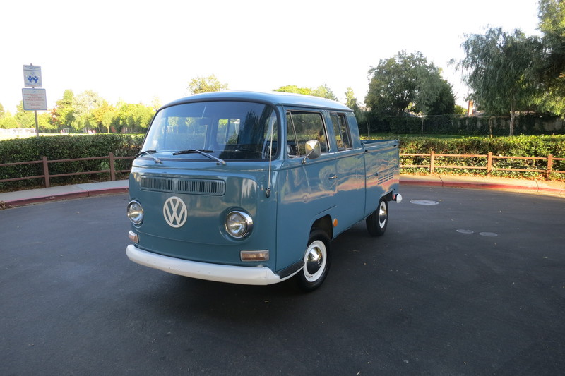 Spotted: 1968 VW Double Cab Pick-up // West County ...