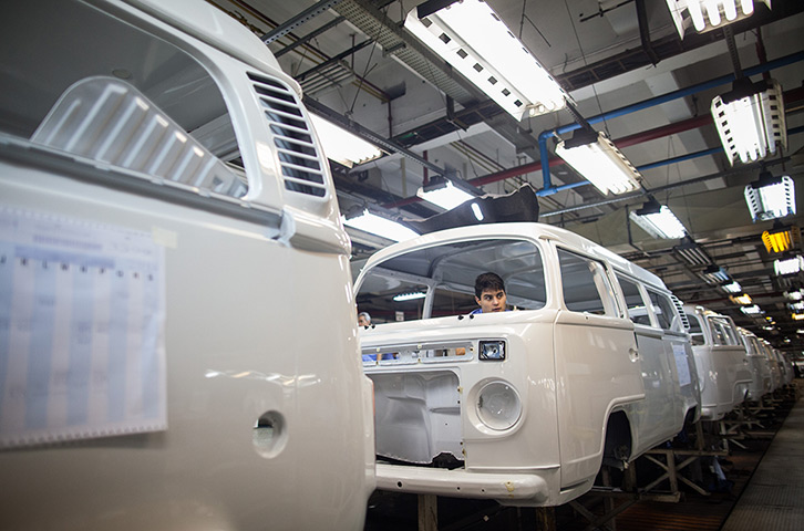 Volkswagen produced more 1.5 million of the vehicles worldwide and the Braz