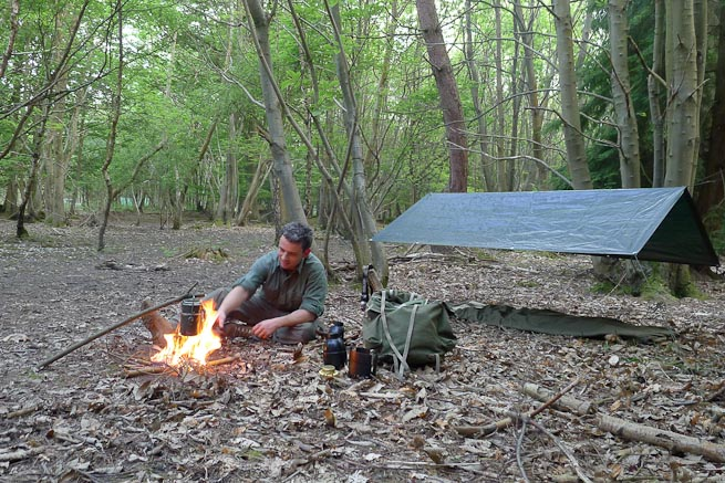 Budget-Bushcraft-Camp